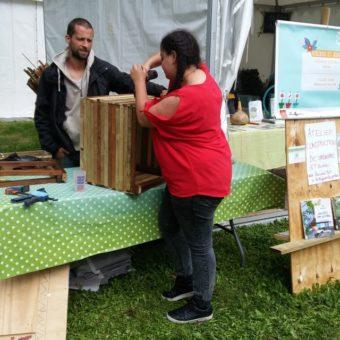 Atelier fabrication mobilier de jardin – Partageons les jardins